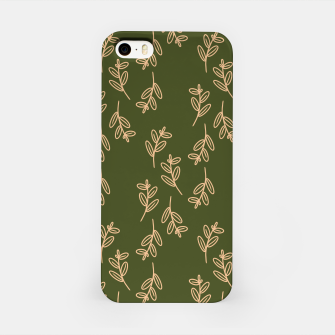 Thumbnail image of Feeling of lightness Pattern II - Pine needle green iPhone Case, Live Heroes