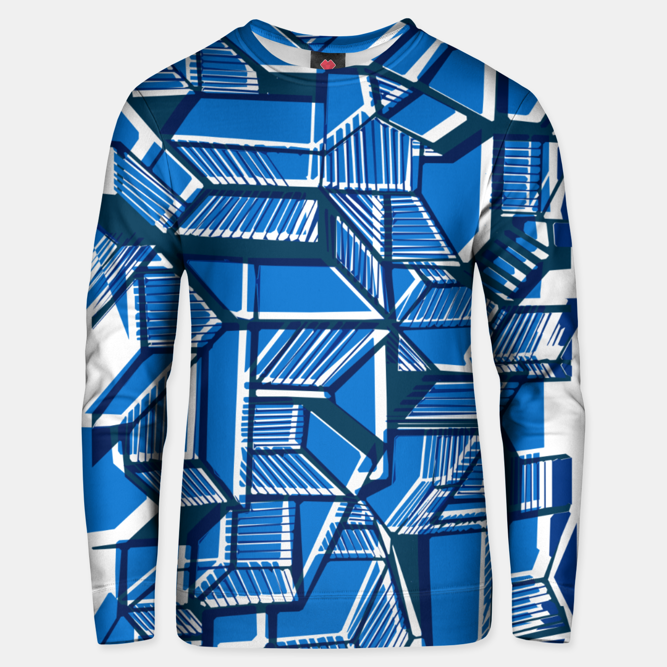 Image of Geometric abstract art Unisex sweater - Live Heroes