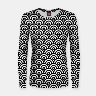 Thumbnail image of Undercutting Circles Women sweater, Live Heroes
