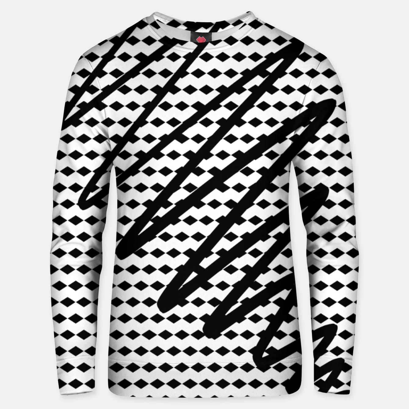 Image of Abstract Unisex sweater - Live Heroes