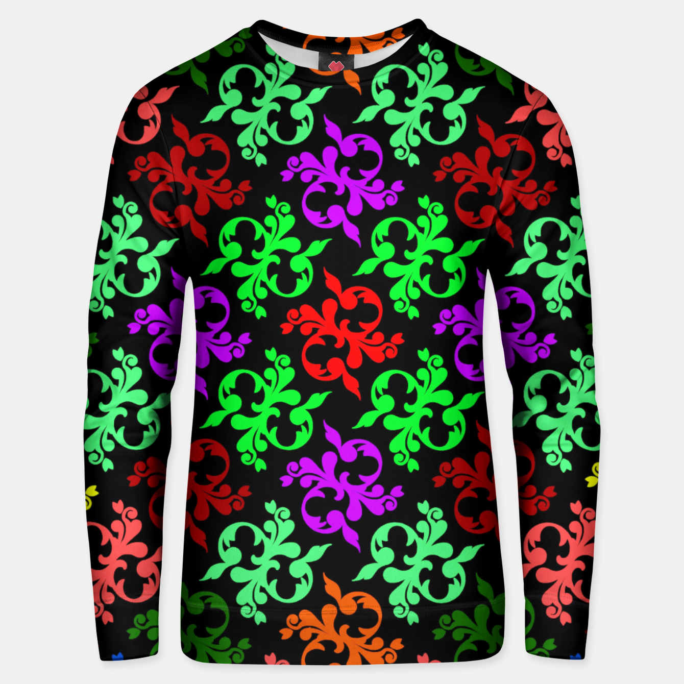 Image of Flower Pattern 4 Unisex sweater - Live Heroes