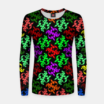 Thumbnail image of Flower Pattern 4 Women sweater, Live Heroes