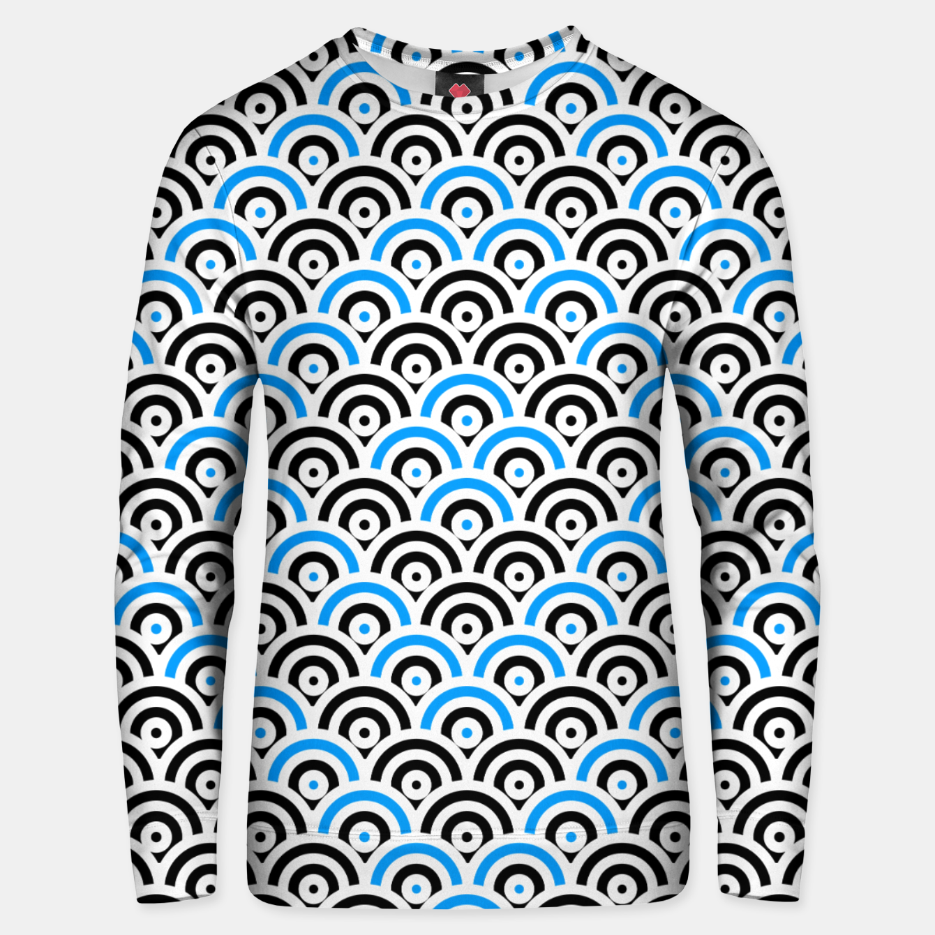 Image of Circles 2 Unisex sweater - Live Heroes