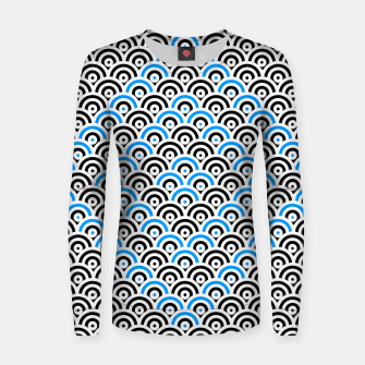 Thumbnail image of Circles 2 Women sweater, Live Heroes
