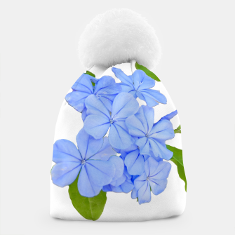 Thumbnail image of Stylized Floral Print Photo Beanie, Live Heroes