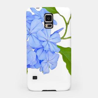 Stylized Floral Print Photo Samsung Case obraz miniatury