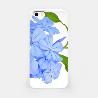 Stylized Floral Print Photo iPhone Case obraz miniatury