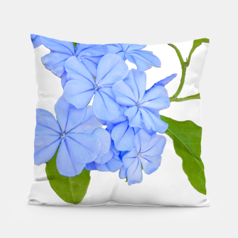 Stylized Floral Print Photo Pillow obraz miniatury