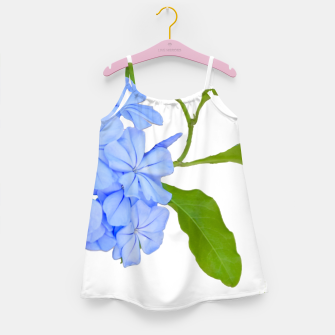Thumbnail image of Stylized Floral Print Photo Girl's dress, Live Heroes