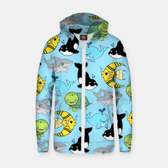 Miniaturka Sea Friends Zip up hoodie, Live Heroes
