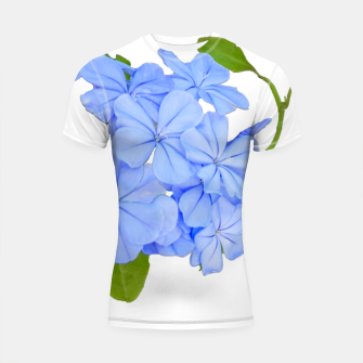 Thumbnail image of Stylized Floral Print Photo Shortsleeve rashguard, Live Heroes