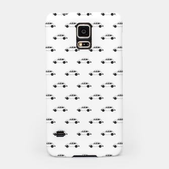 Thumbnail image of Vintage Car Motif Graphic Pattern Samsung Case, Live Heroes