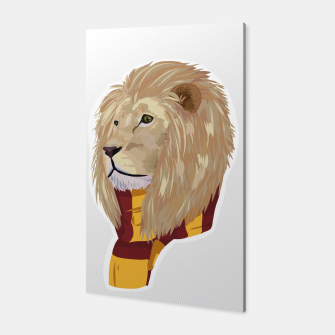 Thumbnail image of Gryffindor Harry Potter lion Canvas, Live Heroes