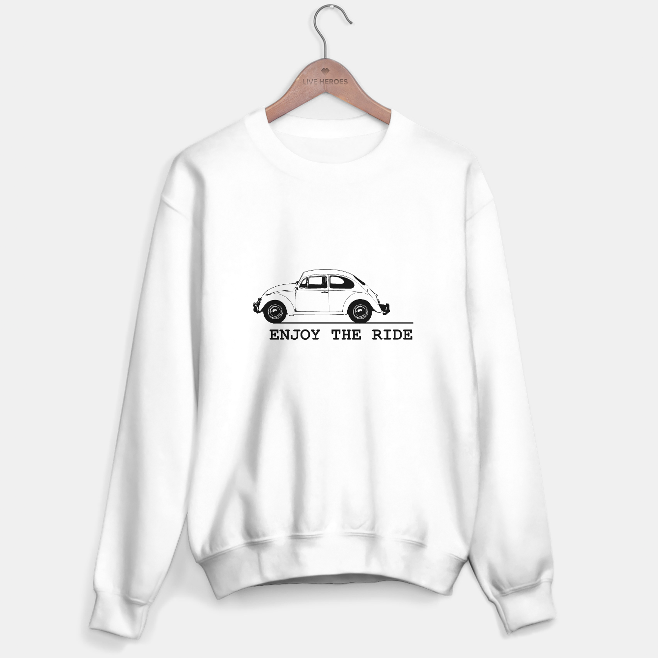 Zdjęcie Enjoy The Ride Concept Drawing Sweater regular - Live Heroes