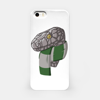 Thumbnail image of Slytherin snake Harry Potter case iPhone, Live Heroes