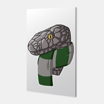 Thumbnail image of Slytherin snake Harry Potter Canvas, Live Heroes