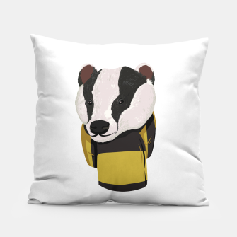 Thumbnail image of Hufflepuff Harry Potter Pillow, Live Heroes