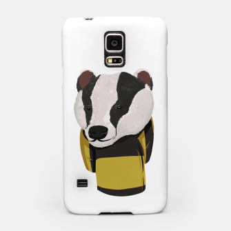 Thumbnail image of Hufflepuff Harry Potter Samsung case, Live Heroes