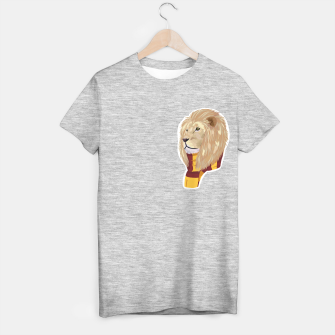 Thumbnail image of Gryffindor Harry Potter lion t-shirt, Live Heroes