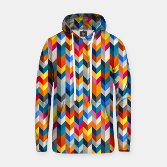 Thumbnail image of Abstract Blocks Going Down Hoodie, Live Heroes