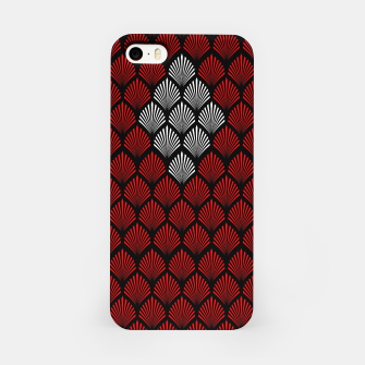 Thumbnail image of Abstract Diamond Feathers iPhone Case, Live Heroes