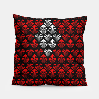 Thumbnail image of Abstract Diamond Feathers Pillow, Live Heroes