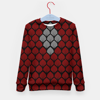 Thumbnail image of Abstract Diamond Feathers Kid's sweater, Live Heroes