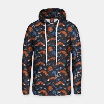 Thumbnail image of Foxes landscape at night 1 Sudadera con capucha, Live Heroes