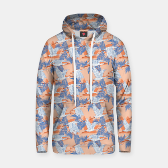 Thumbnail image of Flock of crane birds tropical Sudadera con capucha, Live Heroes