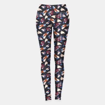 Miniatur Dark wildlife 20 Leggings, Live Heroes
