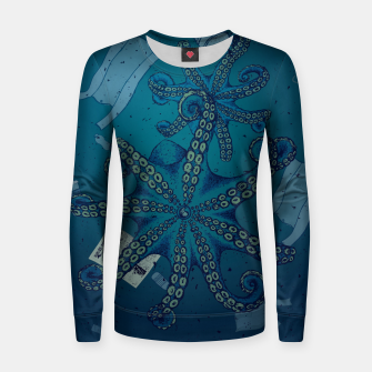 Thumbnail image of PLASTIFIED Women sweater, Live Heroes