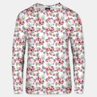 Summer flowers 1 Unisex sweater Bild der Miniatur