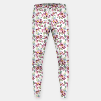 Summer flowers 1 Sweatpants Bild der Miniatur