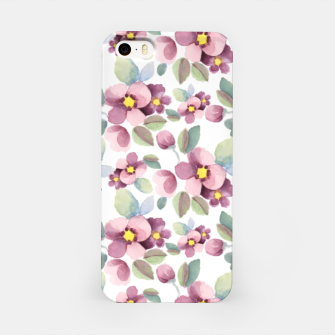Miniature de image de Summer flowers 1 iPhone Case, Live Heroes