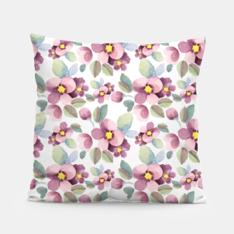 Summer flowers 1 Pillow Bild der Miniatur