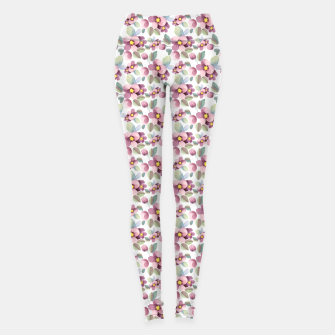 Summer flowers 1 Leggings Bild der Miniatur