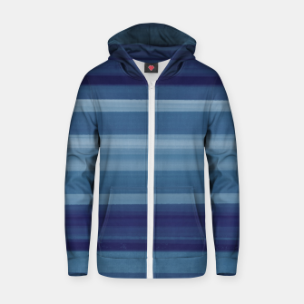 Thumbnail image of Wild Blue Lines Sudadera con capucha y cremallera , Live Heroes