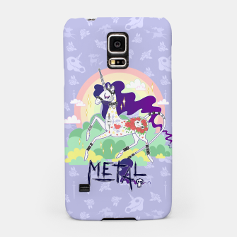Thumbnail image of Tattooed Unicorn - Metal Samsung Case, Live Heroes