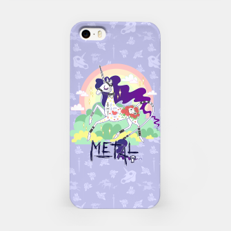 Thumbnail image of Tattooed Unicorn - Metal iPhone Case, Live Heroes