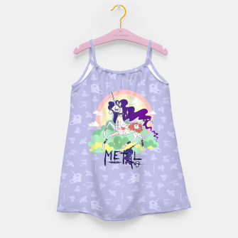 Thumbnail image of Tattooed Unicorn - Metal Girl's dress, Live Heroes