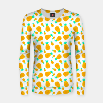 Thumbnail image of Pineapple Pattern Women sweater, Live Heroes