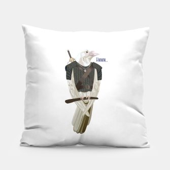 Thumbnail image of Geralt witcher wiedźmin Hmm pillow, Live Heroes