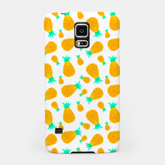 Miniatur Pineapple Pattern Samsung Case, Live Heroes