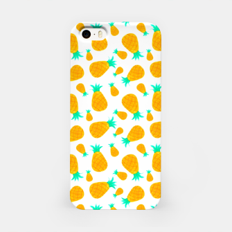 Miniatur Pineapple Pattern iPhone Case, Live Heroes