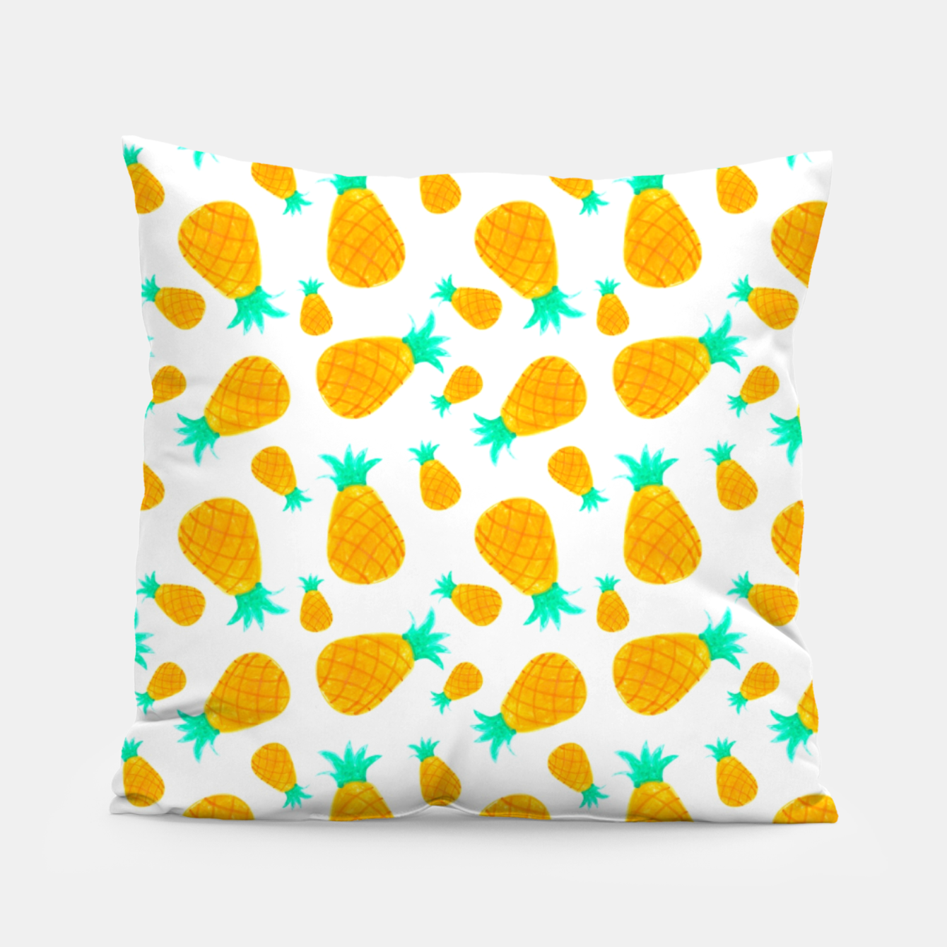 Foto Pineapple Pattern Pillow - Live Heroes