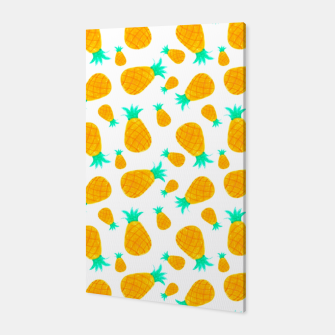 Miniatur Pineapple Pattern Canvas, Live Heroes