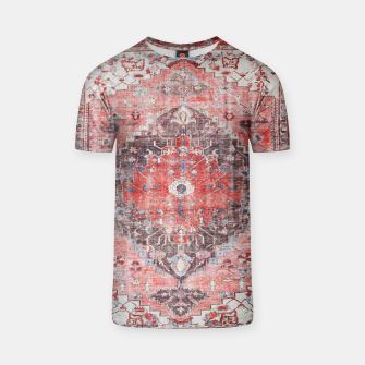 Thumbnail image of Floral Traditional Moroccan Artwork  T-shirt, Live Heroes