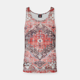 Floral Traditional Moroccan Artwork  Tank Top thumbnail image
