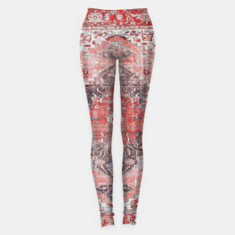 Miniature de image de Floral Traditional Moroccan Artwork  Leggings, Live Heroes