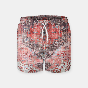 Floral Traditional Moroccan Artwork  Swim Shorts thumbnail image